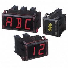 16-сегментные модули индикации (размер знака 11 мм (Ш) x 20 мм (В)) Серии D1AA