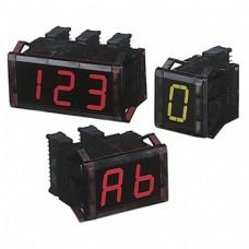 7-сегментные модули индикации (размер знака 11 мм (Ш) x 20 мм (В)) Серии D1SA