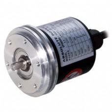 Абсолютные датчики углового перемещения с выступающим/полым несквозным валом и диаметром корпуса 58 мм Серии EP58