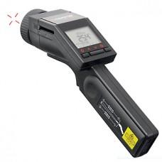 Пирометр (инфракрасный термометр) Optris LaserSight с поверкой (пирометр, батарейка, кабель ПК, контактная термопара, чехол, ремешок, свидетельство)