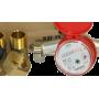 Счетчики воды для горячей и холодной воды крыльчатые одноструйные ВДГ-25