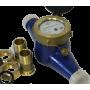 Счетчики воды для горячей и холодной воды крыльчатые многоструйные ВДХ-25